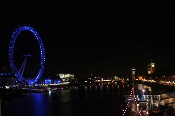 London Eye & Big Ben at Night