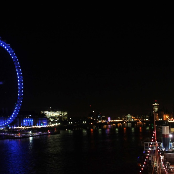 London Eye & Big Ben at Night