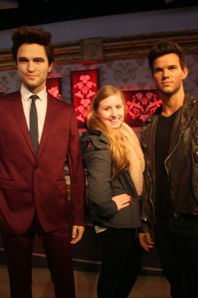 Madame Tussauds with Tyler & Robert