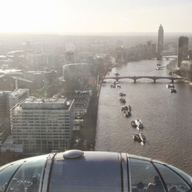 London from the London Eye