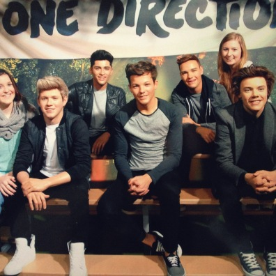 Madame Tussauds with One Direction