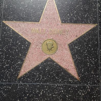 Walk of Fame / Walt Disney