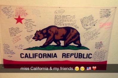 my Cali flag ♥