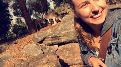 me w/ Kangaroos