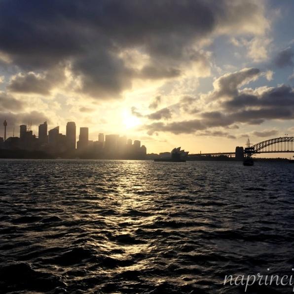 Sunset over Sydney